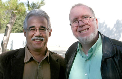 Eduardo Santana and Kevin Kelly