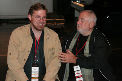 Michael Hawley and Richard SaulWurman